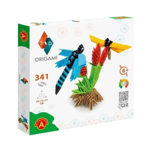 Origami 3D Ważki