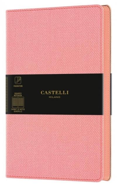 Notatnik 13x21cm kratka Castelli Harris Petal Rose