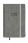 Kalendarz 2020 KK-B6DL Dzienny B6 Lux szary