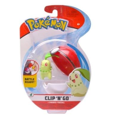 Pokemon: Clip'N'Go - Pokeball Chikorita