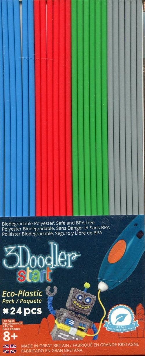 3Doodler Wkład 24 sztuki mix kolorów