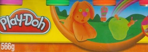Play-Doh Ciastolina 4 tuby pies