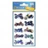 Naklejki dla dzieci - motory 3D (53750)