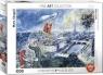 Puzzle 1000 Widok na Paryż, Marc Chagall
