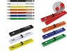 Metalowy długopis granat  A02.3204.30 z gumką do ekranów dotykowych w etui. .
