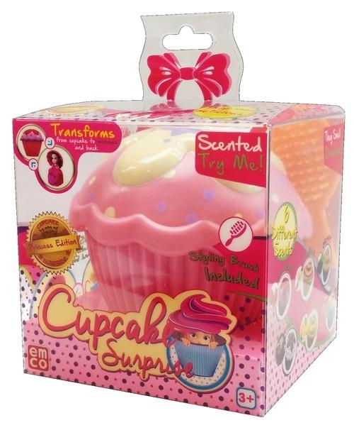Cupcake Surprise Pachnąca babeczka z niespodzianką Liza różowa
