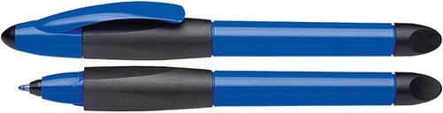 Pióro kulkowe Schneider Base Ball, M, niebieski/czarny