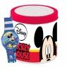 Zegarek analogowy w puszce Mickey (185562386) od 3 lat