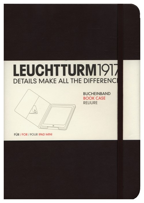 Etui iPad mini Leuchtturm1917 tabaka