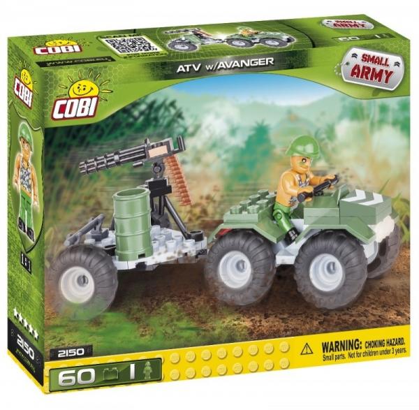 Cobi: Mała Armia. Quad z karabinem Avenger - 2150