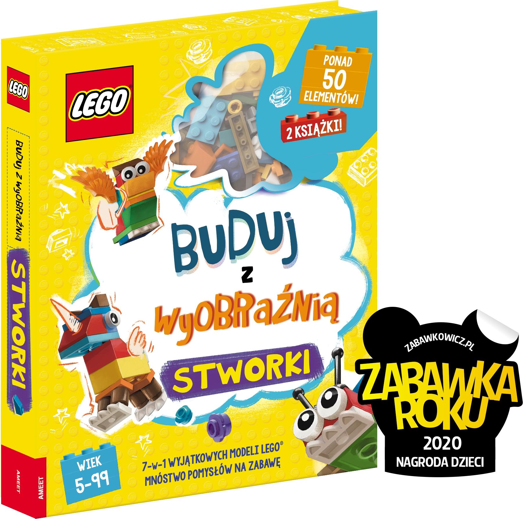 Lego Iconic Buduj z wyobraźnią Stworki Praca zbiorowa