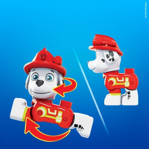 Mega Bloks: Psi Patrol, figurka Marshall-Marcus (GYH90)