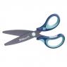Griffix nożyczki ergonomiczne niebieskie BL