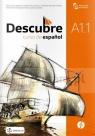 Descubre A1.1 podręcznik + CD  (podręcznik wieloletni)