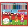 Kredki Stabilo Color. 24 kolory w metalowym pudełku (1824-77)