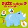 Duże naklejki dla maluszka - nosorożec 3+