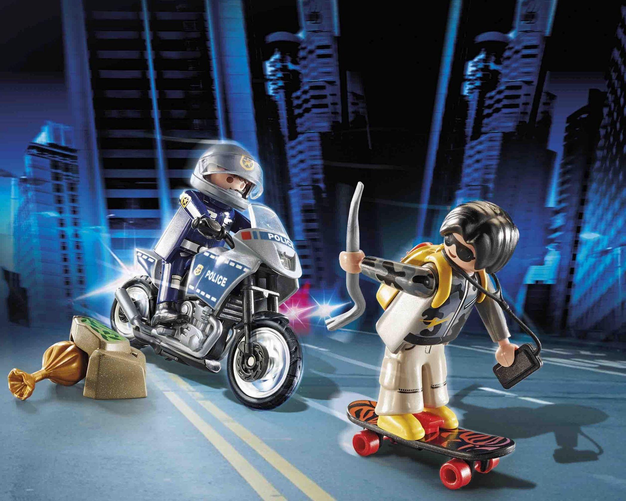 Playmobil City Action: Starter Pack Policja - zestaw dodatkowy (70502)
