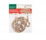 Ozdoba dekoracyjna drewniana bombka zawieszka (438578)