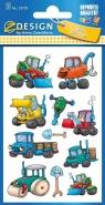 Naklejki dla dzieci - koparki (53705)