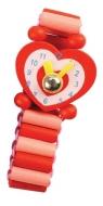 Zegarek Księżniczki czerwone serce