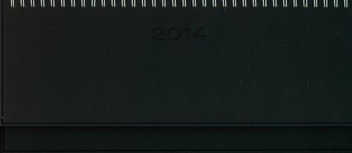 Kalendarz 2014 61T Granat biurkowy leżący