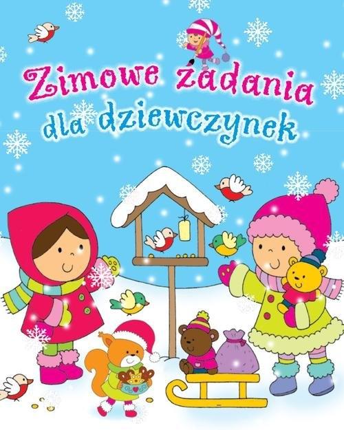 Zimowe zadania dla dziewczynek Wiśniewska Anna, Wiśniewski Krzysztof