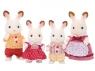 Rodzina królików z czekoladowymi uszami (4150)
