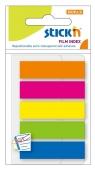 Zakładki indeksujące samoprzylepne mix 5 kolorów neon