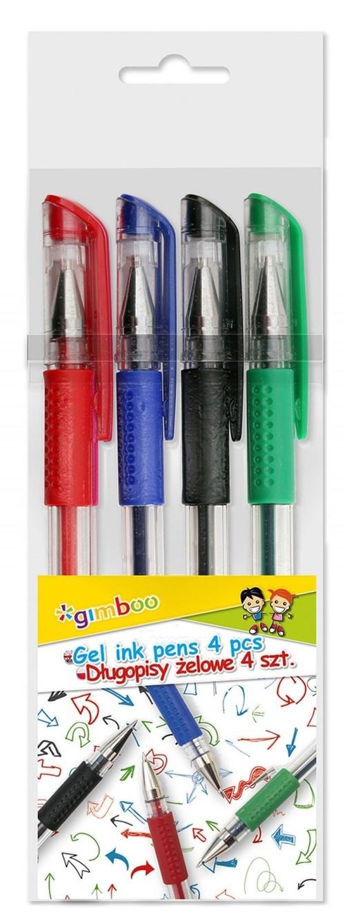 Długopis żelowy GIMBOO Classic 0,5mm 10 sztuk