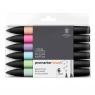 Zestaw pisaków Promarker Winsor & Newton - Pastel Tones, 6 kolorów (0290035)