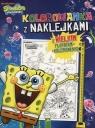 Kolorowanka z naklejkami SpongeBob