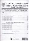 Orzecznictwo Sądu Najwyższego zbiór urzędowy 5-6/2013