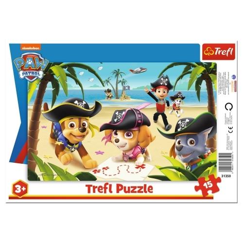 Puzzle ramkowe 15: Przyjaciele z Psiego Patrolu (31350)