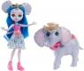 Enchantimals lalka + duże zwierzę Słoń