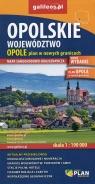 Województwo Opolskie Opole mapa 1:190 000 / 1:22 500