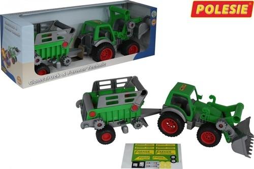 Farmer-technik traktor-ładowar