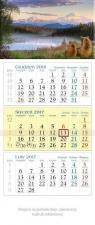 Kalendarz trójdzielny 2017 KT 10 Widok