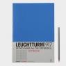 Notatnik A4 Leuchtturm1917 w kratkę chabrowy 341541