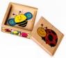 Układanka TOP BRIGHT Puzzle w pudełku owady (1586506) od 10 miesięcy