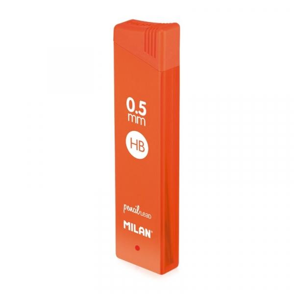 Grafity Milan HB 0,5 mm do ołówków automatycznych (1851070524)