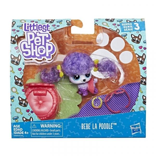 Littles Pet Shop Zwierzaki Premium Bebe La Poodle (E2161/E2426)