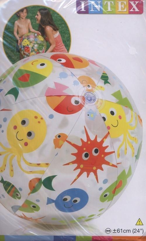 Piłka plażowa 61 cm mix wzorów (59050)