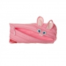 Piórnik Zipit Animals różowy królik