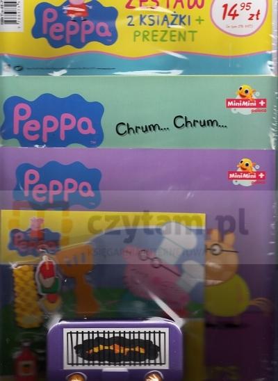 Świnka Peppa zestaw GRILL Praca zbiorowa