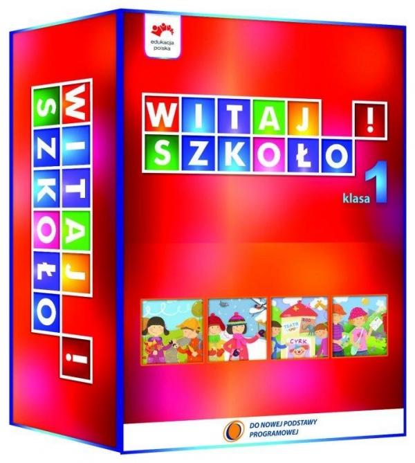 Witaj Szkoło! 1 BOX w.2012 NPP Edukacja Polska Anna Korcz, Dorota Zagrodzka, Joanna Babicka,