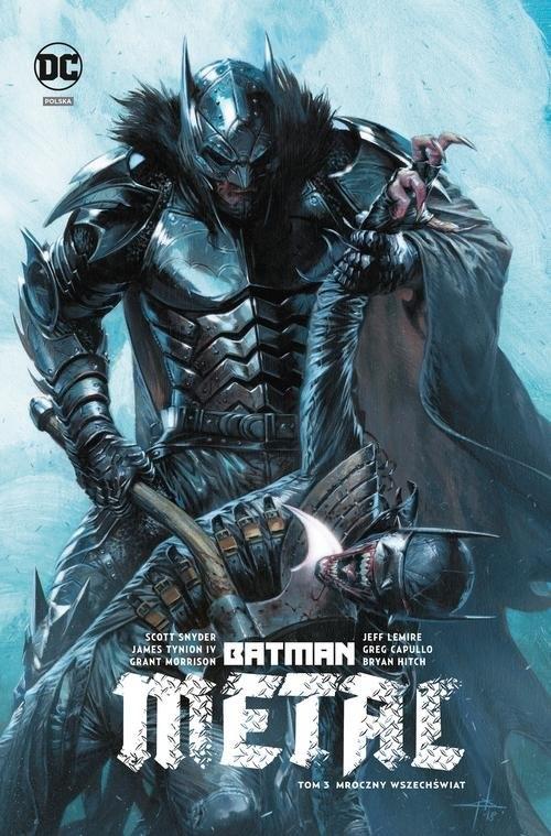 Batman Metal Tom 3 Mroczny wszechświat Snyder Scott, TynionIv James, Lemire Jeff, Morrison Grant