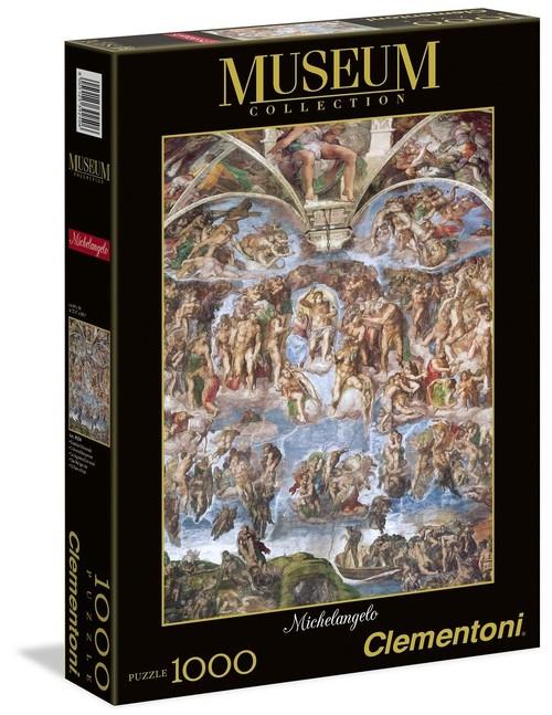 Puzzle 1000 Museum Vatican Universal Judgement (39250)