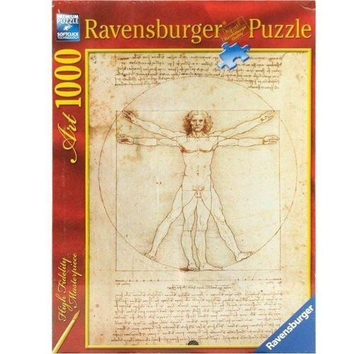 Puzzle 1000: Da Vinci Człowiek (152506)