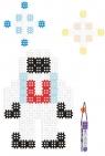 Klocki Micro Waffle: Astronauta - 150 elementów (903 506) Wiek: 5+