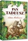 Pan Tadeusz kolorowe ilustracje, kreda, duża czcionka Adam Mickiewicz
